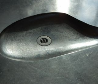 small concrete sink 9
