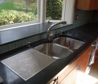 counter and sink